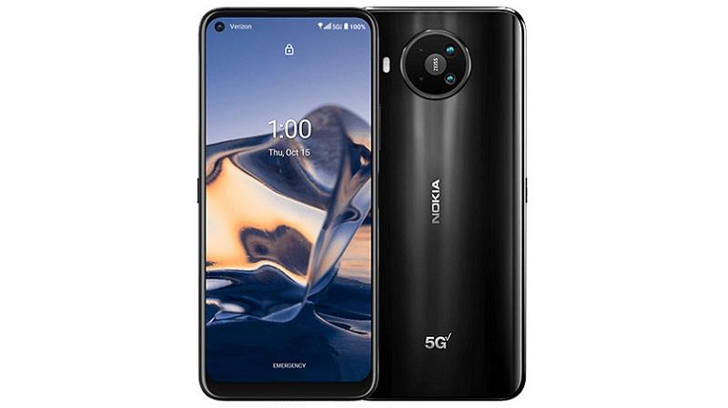 Nokia 8 V 5G UW specifications