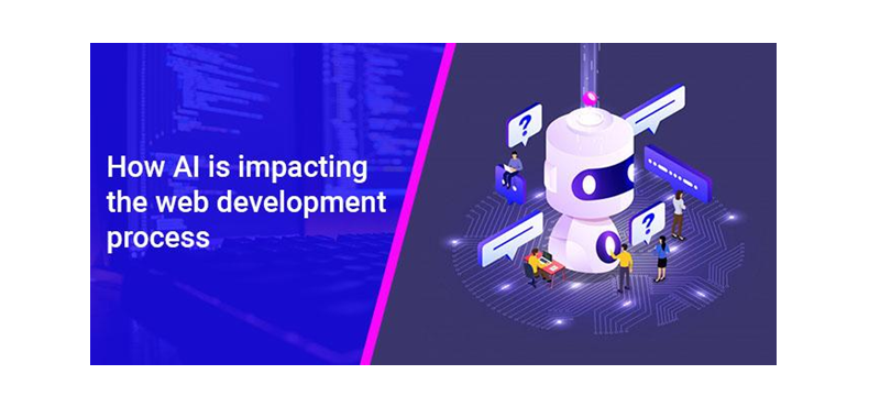 What is the role of AI in the web development process